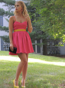 Mixing Pink and Yellow