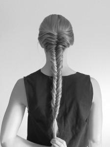 fishtail french braid tutorial