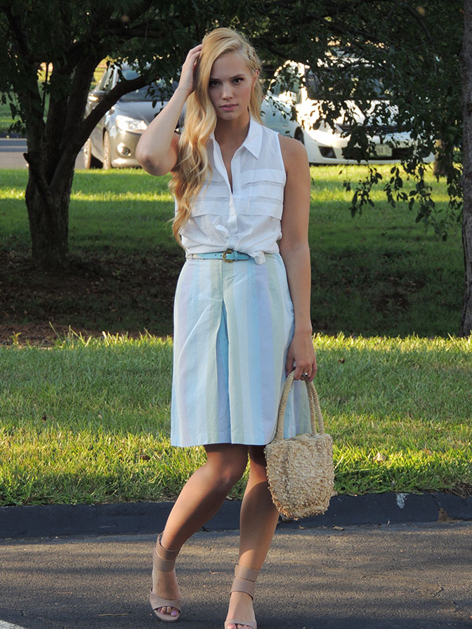 Culottes and retro waves