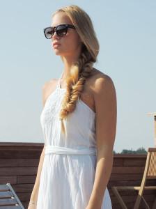 Transitioning sundresses into fall