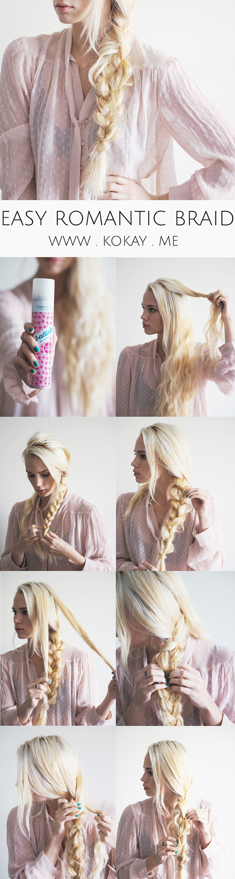 How to: diy easy romantic braid