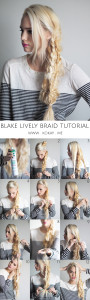 How to: DIY Blake Lively Braid Tutorial