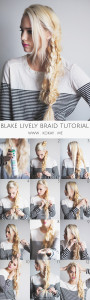How to: DIY Blake Lively Braid Tutorial