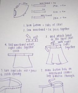 DIY Wrap Skirt Tutorial