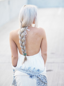 Simple summer braid