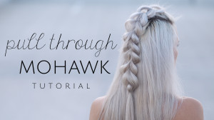 pull through mohawk tutorial!