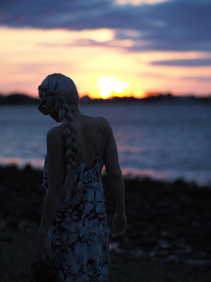 Sunrise and braids