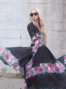 Fame and Partner maxi dress