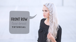 front row lace braid tutorial