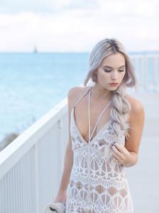 Sabo skirt lace dress