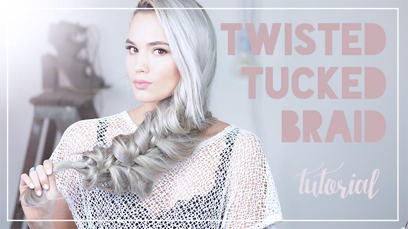 Twisted Tucked Braid Tutorial