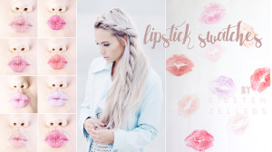 Gerard Cosmetics lip swatches