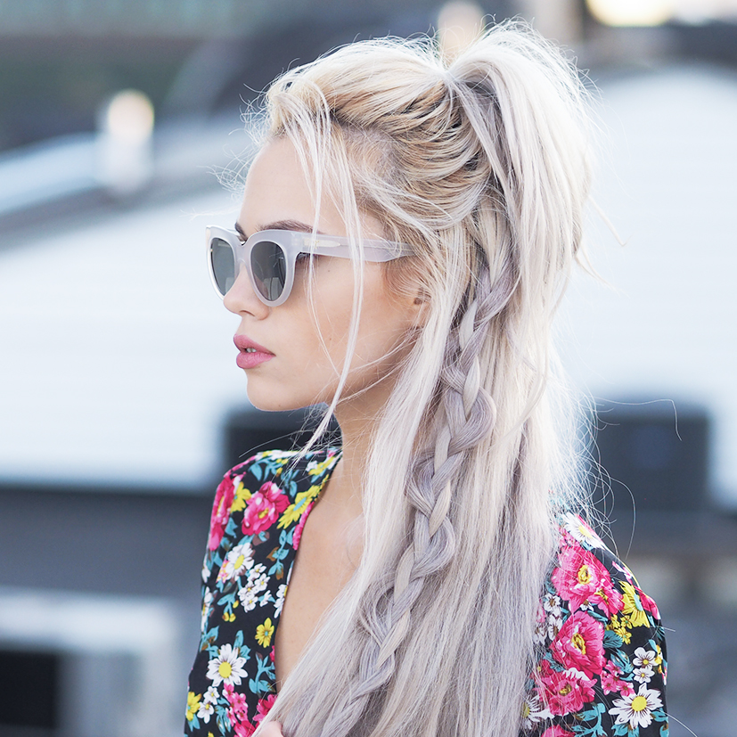 Boho hairstyle tutorial