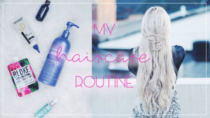 My haircare routine | Kirsten Zellers