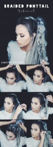 Braided ponytail tutorial
