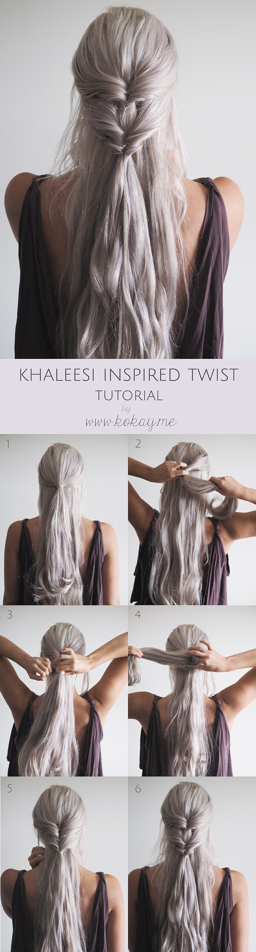 Khaleesi inspired tutorial