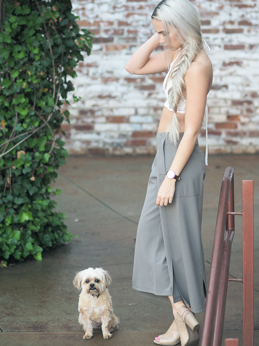 Culottes and crochet