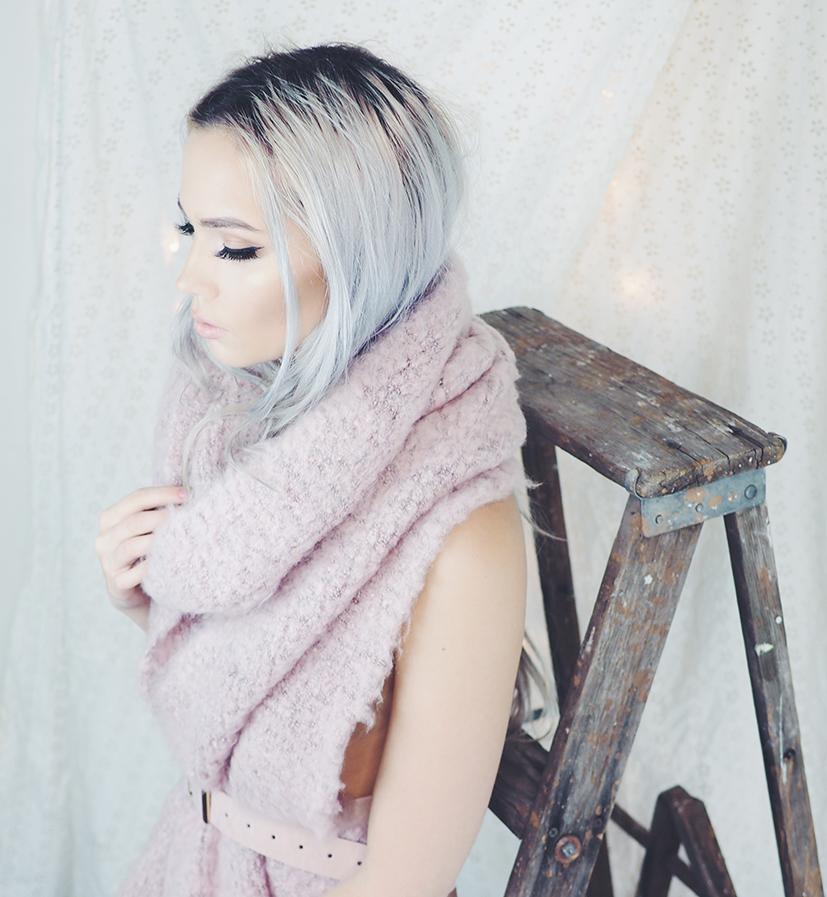 Blush scarf