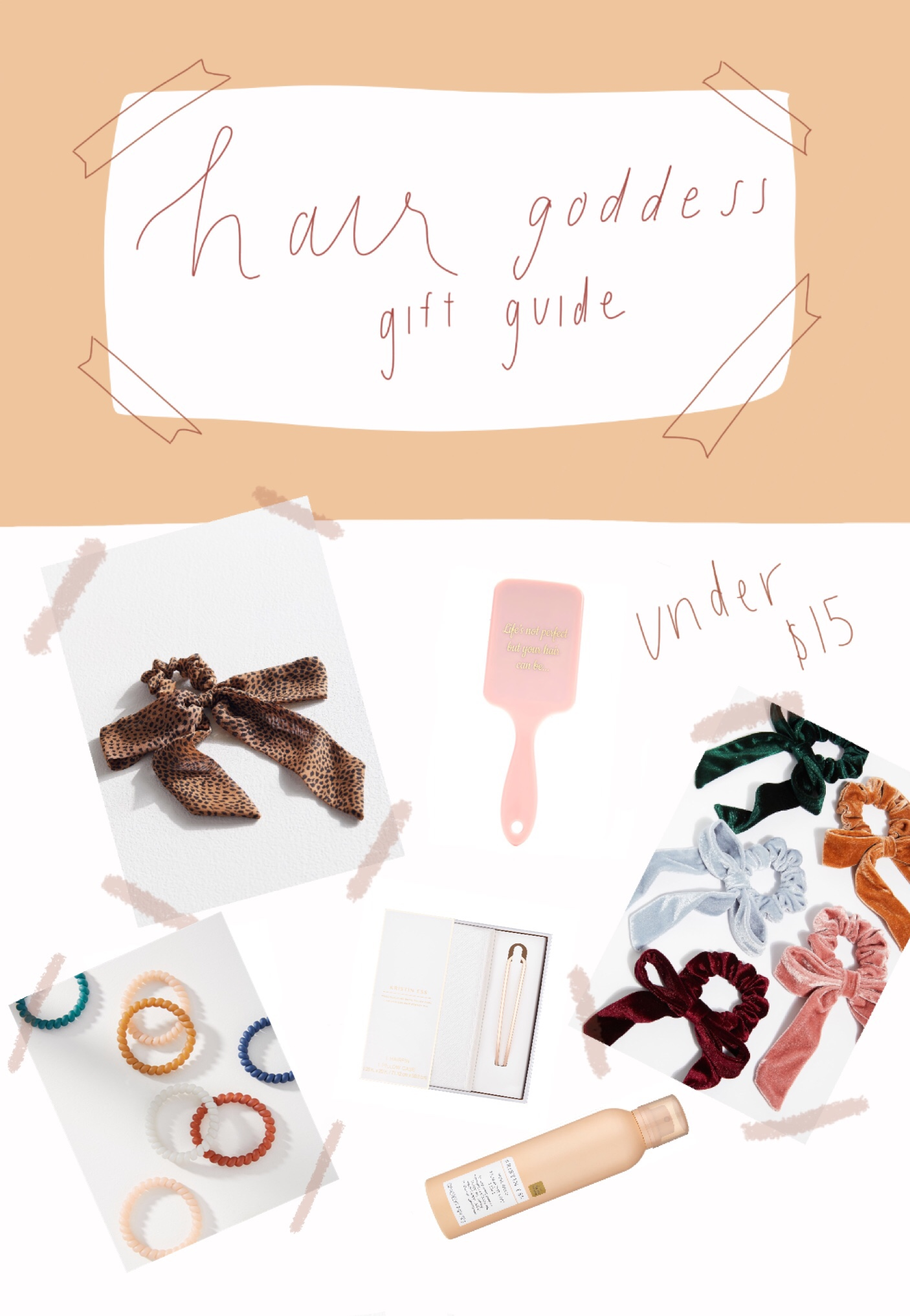Holiday gift guide for hair lovers